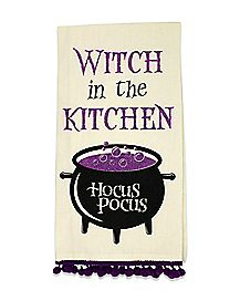 Witch Kitchen Hocus Pocus Dish Towel - Hocus Pocus
