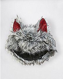 Faux Fur Wolf Hat