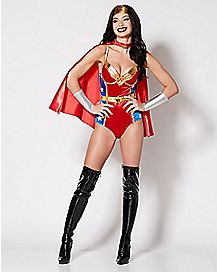 Adult Wonder Woman Bodysuit - DC Comics