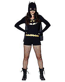 Adult Romper Batman Costume - DC Comics