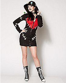 Adult Voodoo Doll Costume