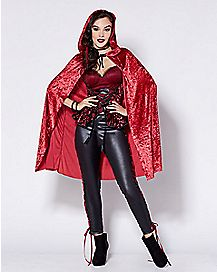 Adult Big Bad Red Costume
