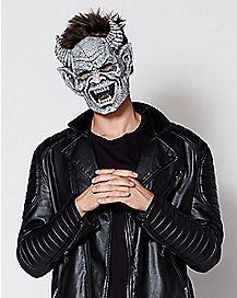 Laughing Brimstone Gargoyle Half Mask