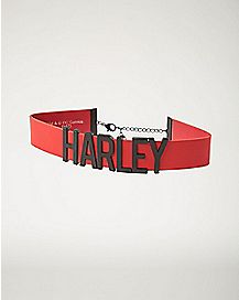 Harley Quinn Choker - Suicide Squad