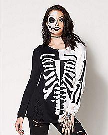 Adult Skeleton Sweater