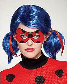 Ladybug Wig and Mask - Miraculous: Tales of Ladybug & Cat Noir