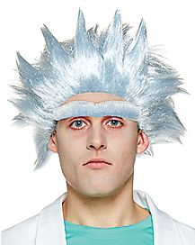 Rick Wig and Unibrow - Rick and Morty