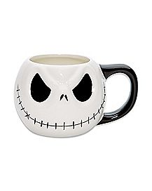 Molded Jack Skellington Coffee Mug 20 oz. - The Nightmare Before Christmas