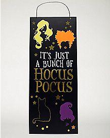 Hocus Pocus Sign Decorations - Hocus Pocus