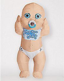 Adult Baby Boy Inflatable Costume