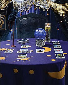Tarot Round Tablecloth