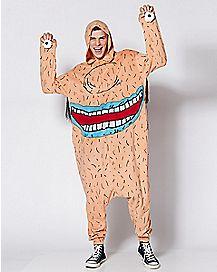 Adult Krumm Pajama Costume - Ahh Real Monsters