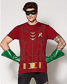Robin Cape T-Shirt - DC Comics