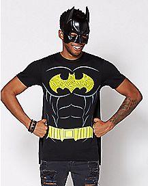 Batman Cape T Shirt - DC Comics