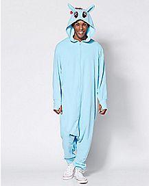 Adult Rainbow Dash Pajama Costume - My Little Pony