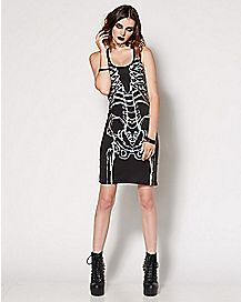 Skeleton Tank Dress