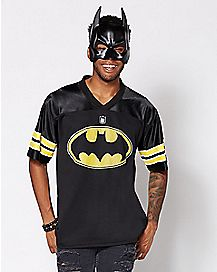 Bruce Wayne Batman Football Jersey - DC Comics