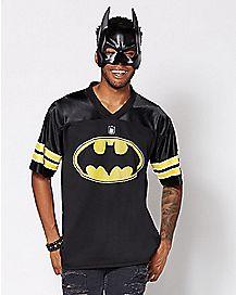 Bruce Wayne Batman Football Jersey - DC Comics