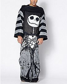Jack Skellington Comfy Cozy Blanket - The Nightmare Before Christmas