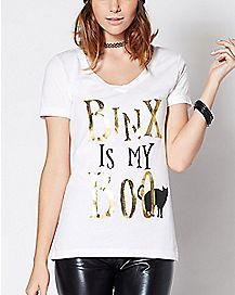 Binx Is My Boo T Shirt - Hocus Pocus