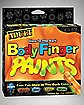 Glow in the Dark Body Finger Paints Set