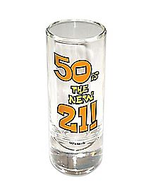 50 Is The New 21 Birthday Shooter 2 oz