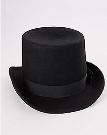 Black Banded Fedora Hat