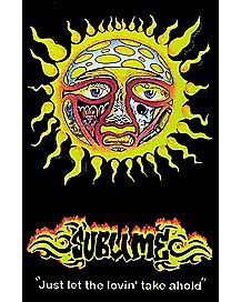 Sun Sublime Blacklight Poster