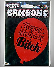 Happy Bday Bitch Balloon Pack