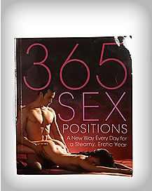 '365 Sex Positions' Book