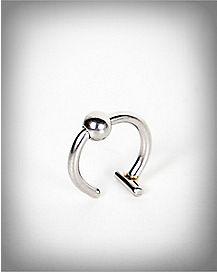 Fake Hoop Nose Ring
