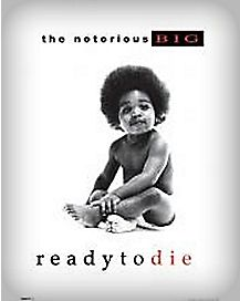 The Notorious B.I.G. 'Ready to Die' Album Poster