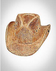 Tea Stain Cowboy Hat
