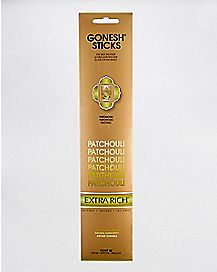 Gonesh Extra Rich Incense Sticks - Patchouli