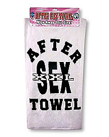 After Sex Towel XXL