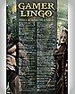 'Gamer Lingo' Poster