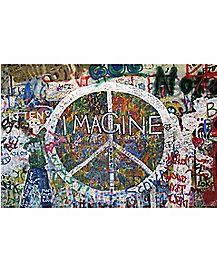 Peace Imagine Poster