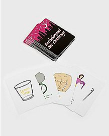 Bachelorette Bar Challenges Card Game