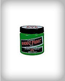 Manic Panic Green Semi-Permanent Hair Color Cream