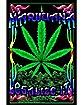 'Marijuana Legalize It' Black Light Poster