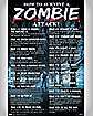 'How To Survive A Zombie Attack!' Poster