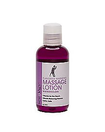 Sexology Warming Watermelon Flavored Massage Lotion - 4 oz.