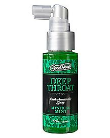 Good Head Numbing Mint Throat Spray - 2 oz.