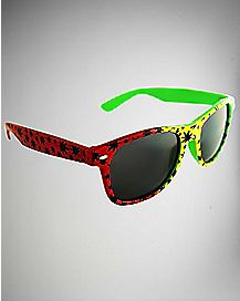 Rasta Pot Leaf Sunglasses