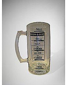Chug O Meter Beer Mug 50 oz