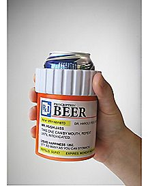 Pill Bottle Can Cooler