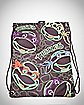 Teenage Mutant Ninja Turtles Dayglo Turtle Heads Cinch Sack