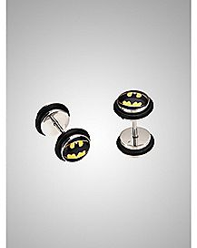 Batman Logo Fake Plug - DC Comics