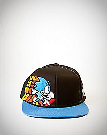 Embroidered Sonic Snapback Hat