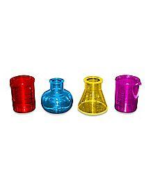 Chemistry Shot Glass Set 1.5 oz Plastic